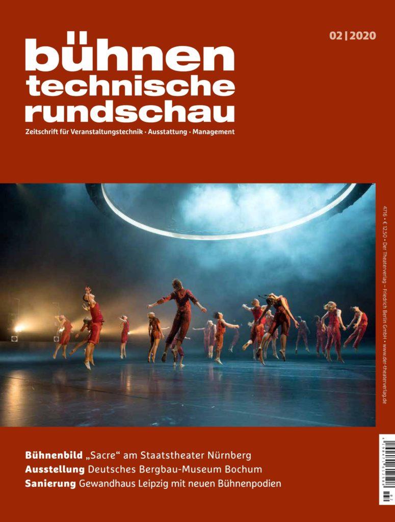 Pressemeldung der Deutschen Event Akademie in der Fachzeitschrift Bühnentechnische Rundschau, April 2020